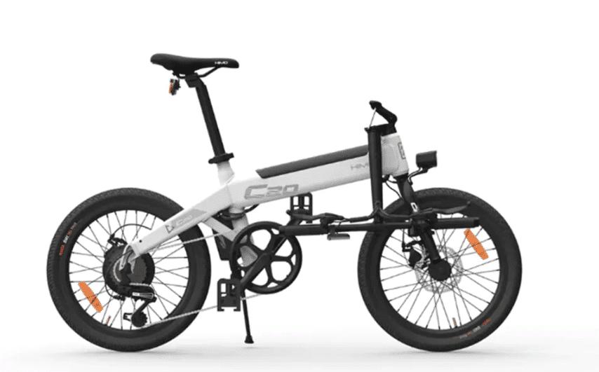 2019 09 24 09 37 34 Original Xiaomi HIMO C20 10AH Electric Moped Bicycle 25KM Per Hour 250W Motor Fo