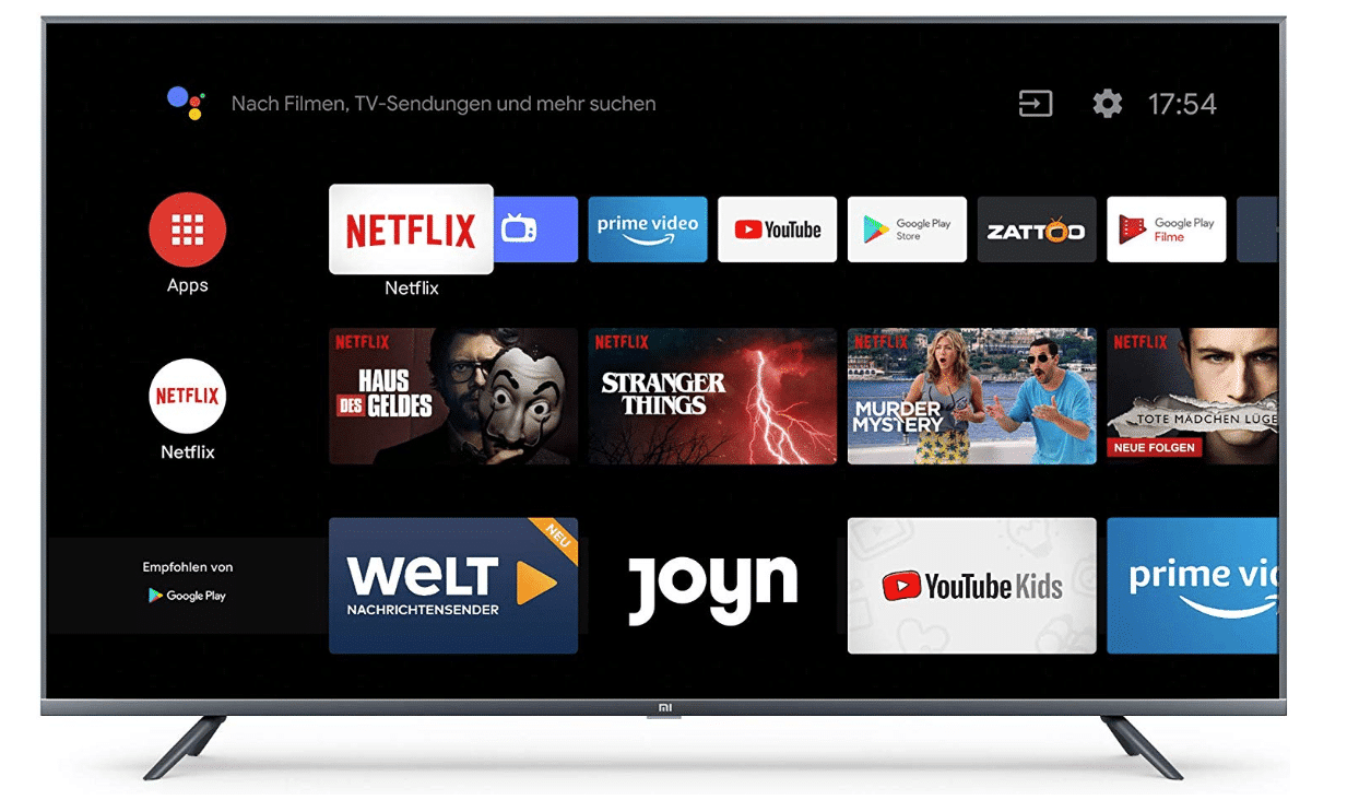 2019 09 24 10 34 21 Xiaomi Mi Smart TV 4S 55  4K Ultra HD Triple Tuner Android TV 9.0 Fernbedien