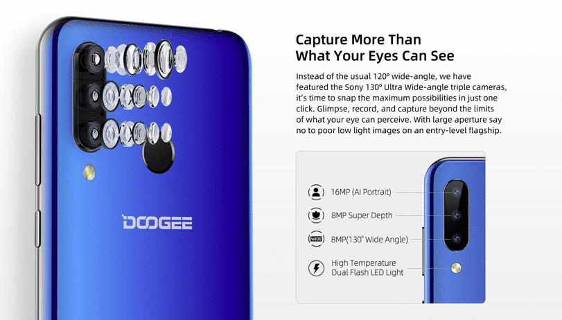 2019 09 24 14 29 27 doogee n20 6.3 inch fhd waterdrop display android 9.0 4350mah triple rear camer