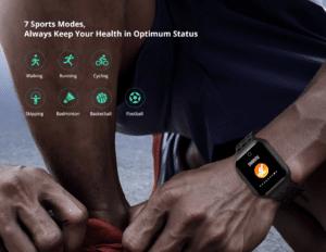 2019 09 25 09 47 14 Lenovo E1 1.33 inch TFT Screen Sports Smartwatch Global Version   Gearbest