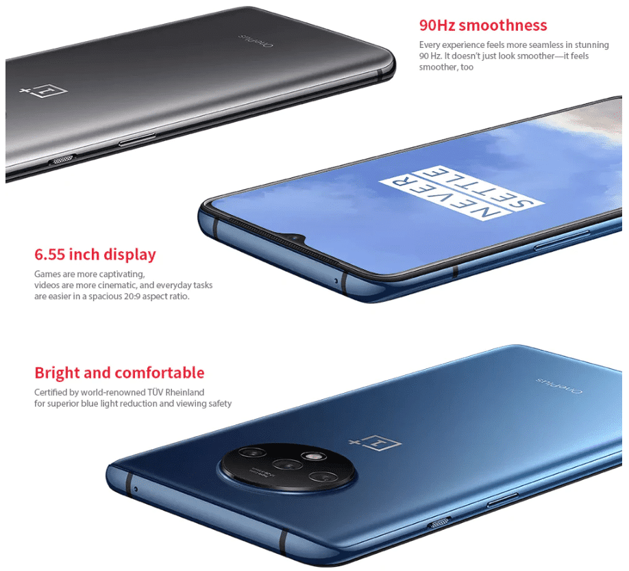 2019 10 01 10 06 11 Oneplus 7T 4G Phablet 6.55 inch Oxygen OS Based On Android 10 Snapdragon 855 Plu