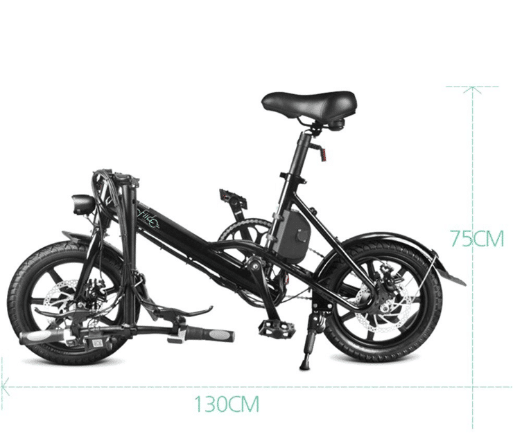 2019 10 07 12 42 29 FIIDO D3S Folding Moped Electric Bike Variable Speed Version Dark Gray