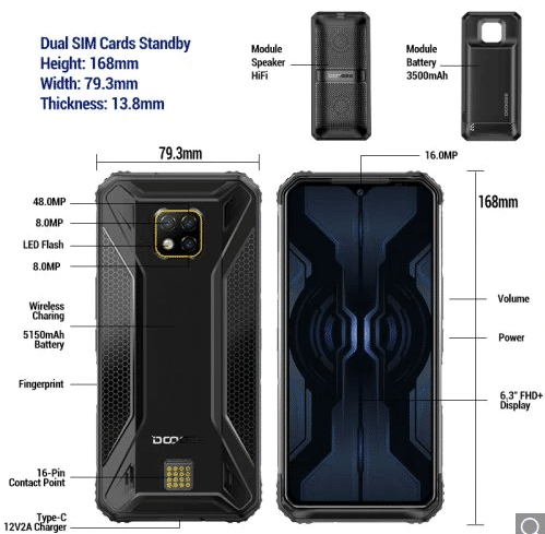 2019 10 30 10 54 32 DOOGEE S95 Pro Helio P90 Octa Core 8 GB 128 GB Modulares robustes Mobiltelefon 6