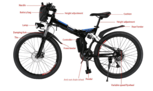 2019 11 19 13 59 48 Ancheer 26inch 36V Foldable Electric Power Mountain Bicycle with Lithium Ion Bat