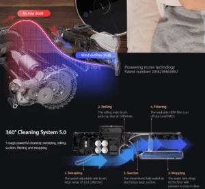 2019 11 25 10 57 20 Lenovo X1 LDS Lidar Laser Navigation Wet and Dry Robot Vacuum Cleaner 55dB Low N