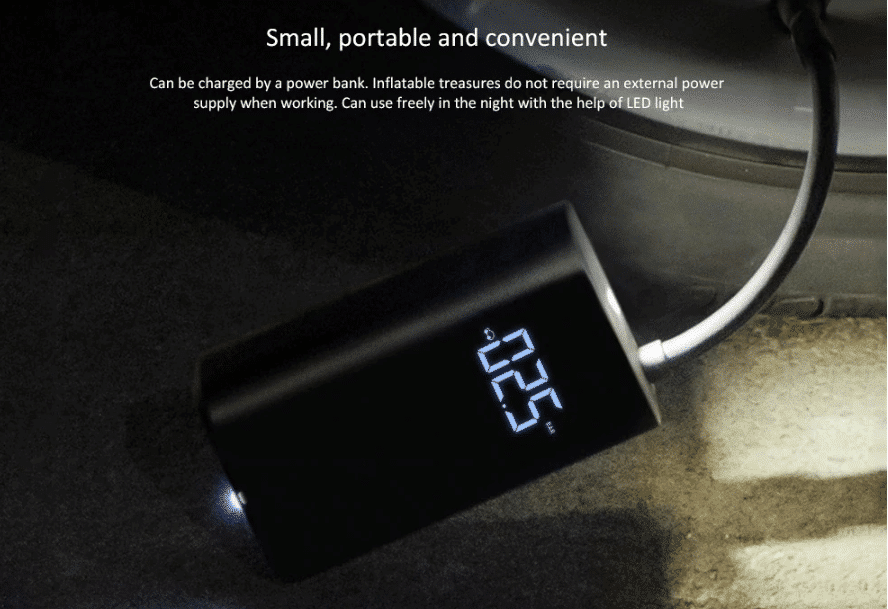 2019 12 12 14 42 06 Xiaomi Mijia Electric Inflator Pump Smart Digital Tire Pressure Detection For Bi