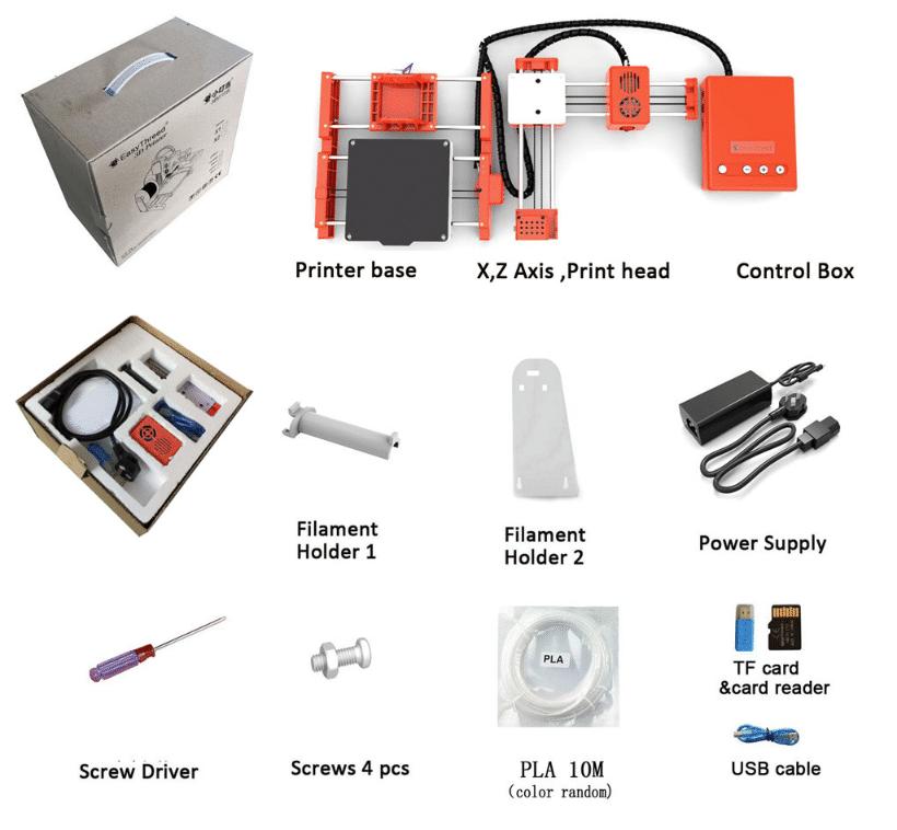 2019 12 19 11 19 31 easythreed® x1 mini 3d printer 100 100 100mm printing size for household educati