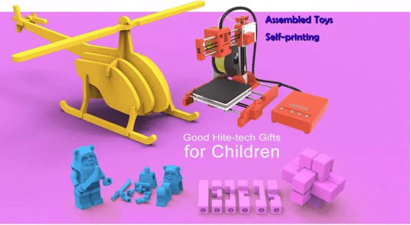 2019 12 19 11 19 46 easythreed® x1 mini 3d printer 100 100 100mm printing size for household educati