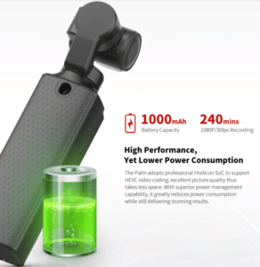 2019 12 20 10 42 55 FIMI PALM 3 Axis 4K HD Handheld Gimbal Camera Pocket Stabilizer 128° Super Wide