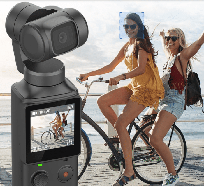 2019 12 20 10 43 15 FIMI PALM 3 Axis 4K HD Handheld Gimbal Camera Pocket Stabilizer 128° Super Wide