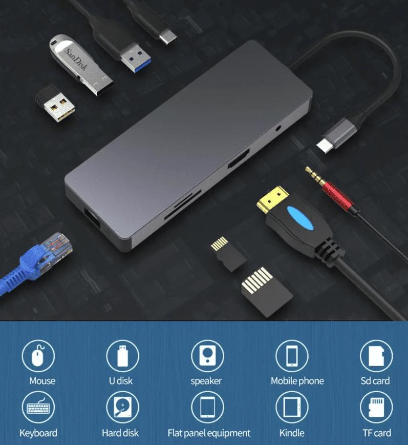 Multifunktions USB Hub
