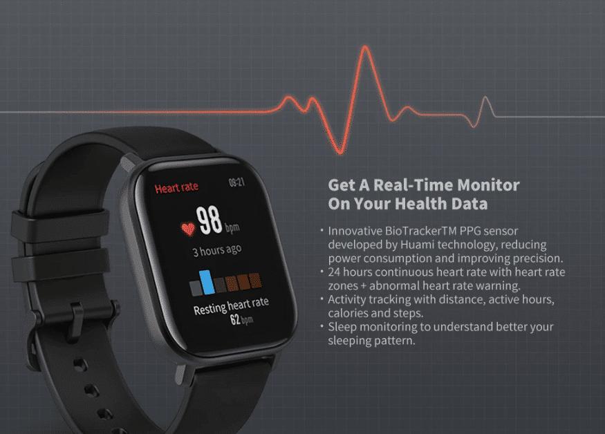 2020 01 09 10 27 10 Amazfit GTS Black Smart Watches Sale Price Reviews   Gearbest