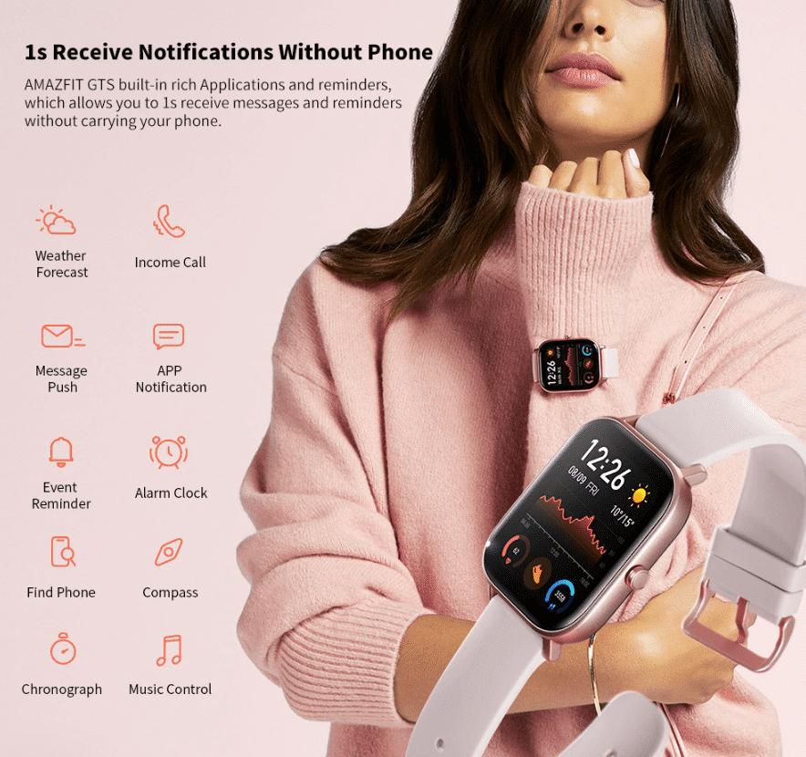 2020 01 09 10 27 19 Amazfit GTS Black Smart Watches Sale Price Reviews   Gearbest