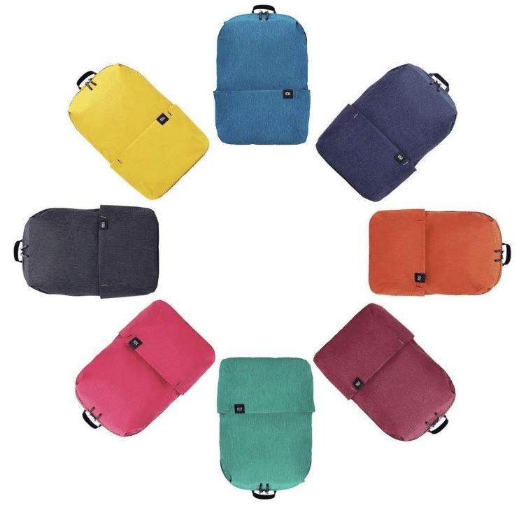 2020 01 15 13 59 08 Xiaomi Mini Rucksack Leichte Colorfull Water Resistant 10L Kapazität Naran