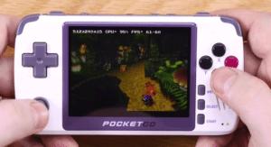 2020 01 16 10 44 22 2 Endlich der perfekte Retro Handheld  Pocket Go V2 Test YouTube