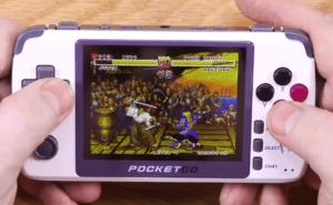 2020 01 16 10 59 48 2 Endlich der perfekte Retro Handheld  Pocket Go V2 Test YouTube