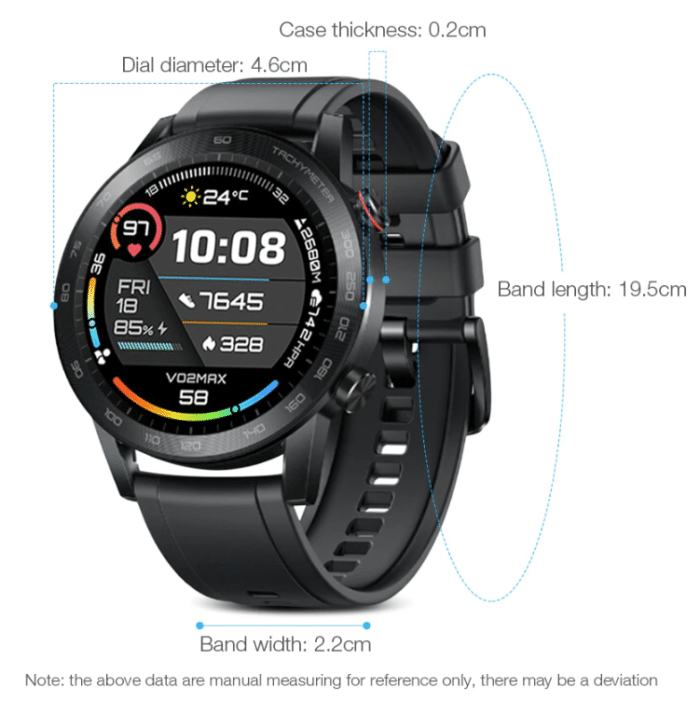 2020 01 20 14 38 47 Honor MagicWatch 2 Rechargeable Sport Smartwatch 1.39 AMOLED Screen 455mAh Batte