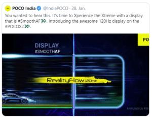 2020 01 29 13 52 59 2 POCO India @IndiaPOCO   Twitter