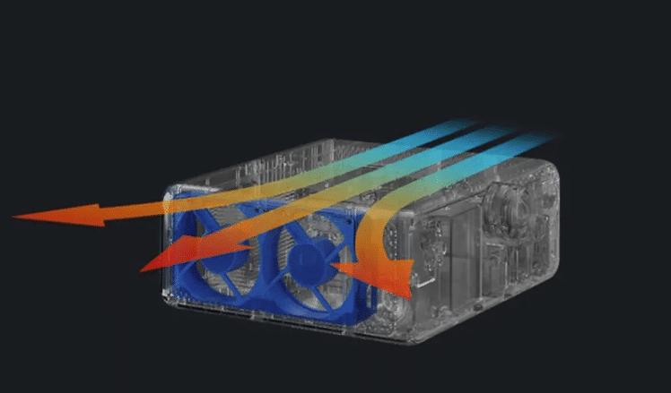 Xiaomi Mijia Laser Projektor Lüftung