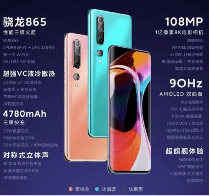 2020 02 13 10 54 36 Xiaomi Mi 10 und Mi 10 Pro offiziell vorgestellt das steckt drin