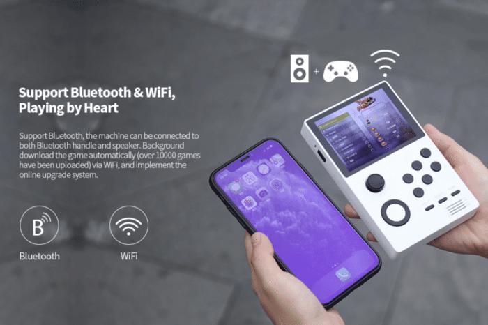 Supretro Handheld Bluetooth und W-LAN Verbindung