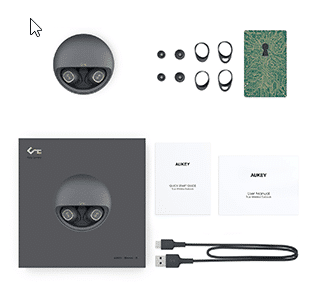 Aukey TWS EP-T10 Lieferumfang