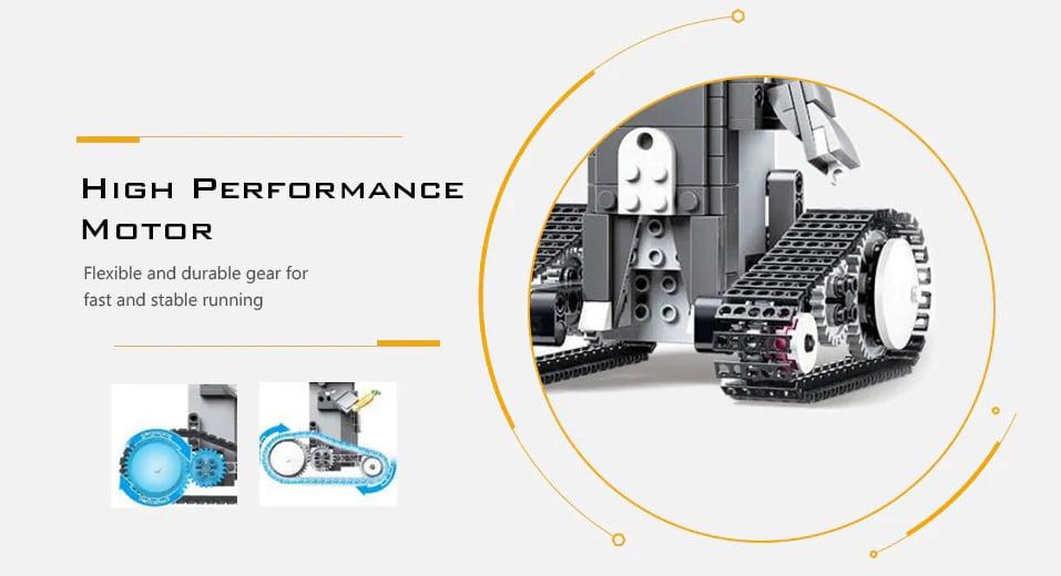 2020 03 05 12 19 58 Mould King Fernbedienung Bausteine Spielzeug DIY Electric Assembly Kit   Gearb