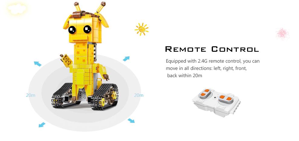 2020 03 05 12 48 48 Mould King Fernbedienung Bausteine Spielzeug DIY Electric Assembly Kit   Gearb
