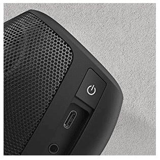 Anker Soundcore Motion+ Anschlüsse + Powerbutton