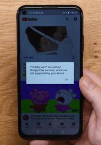 2020 03 16 10 07 09 1 Huawei P40 Lite Wie schlägt es sich ohne Google  Test YouTube