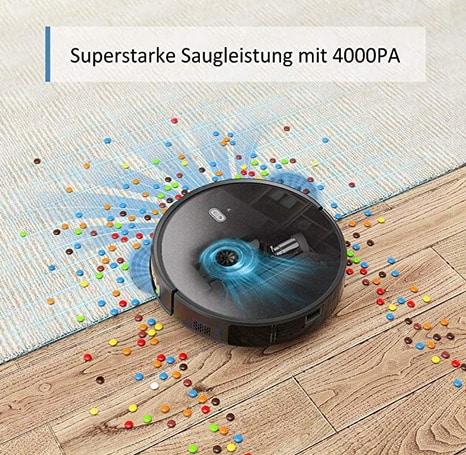 2020 03 17 15 12 05 Amazon.de  Saugroboter Tesvor M1 mit 4000PA Powerleistung Roboterstaubsauger WL