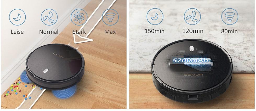 2020 03 17 15 12 17 Amazon.de  Saugroboter Tesvor M1 mit 4000PA Powerleistung Roboterstaubsauger WL
