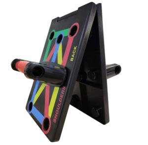 2020 03 25 14 23 28 Push Up Board 9 in 1 Faltbar Liegestütze Brett Griffe Power Press Fitness Muskel