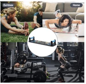 2020 03 25 14 25 11 Jourbon 9 in 1 Faltbare Push Up Rack Board mit Handgriff für Muskeltraining Effe