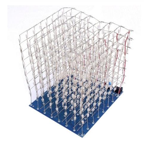 2020 03 27 15 25 59 3d led cube 8x8x8 licht neue artikel PCB Board neuheit nachrichten Blau Squared