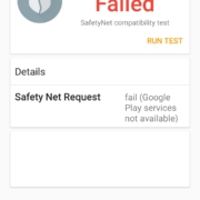 Screenshot 20200312 101514 org.freeandroidtools.safetynettest