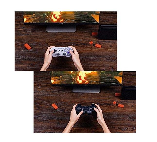 8Bitdo USB-Dongle verschiedene Controller