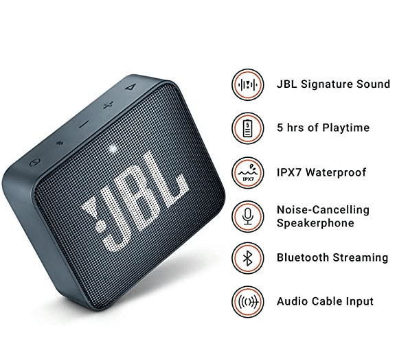 JBL GO 2 Features