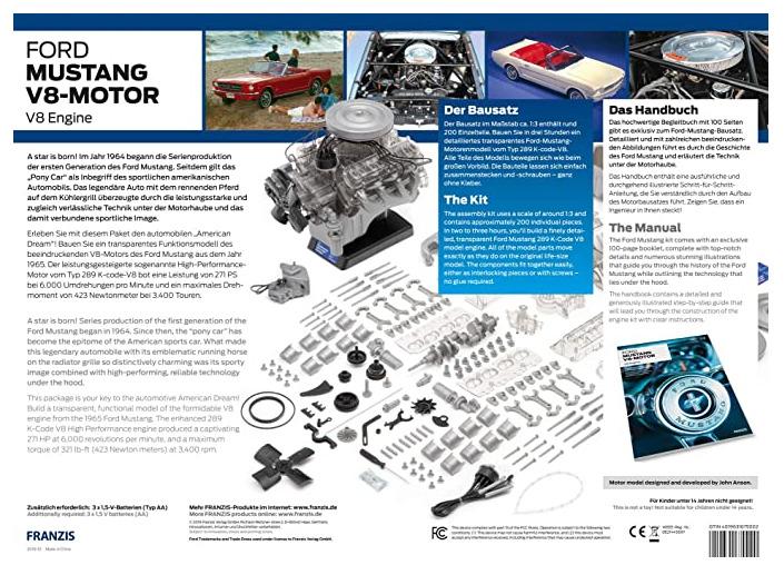 Modellbau-Motoren Mustang V8