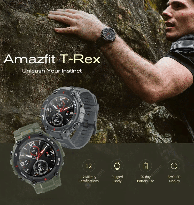 2020 04 14 10 25 16 Amazfit T Rex Graphite Black Smart Watches Sale Price Reviews   Gearbest