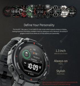 2020 04 14 10 25 47 Amazfit T Rex Graphite Black Smart Watches Sale Price Reviews   Gearbest