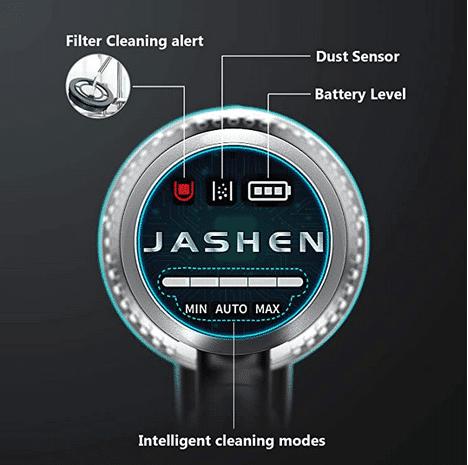 2020 04 29 13 36 14 Amazon.de  JASHEN smarter Akku Staubsauger 22kpa 2500mAh Staubsensor intellige