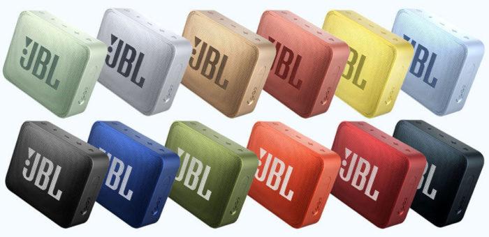 JBL GO 2 verschiedene Farben