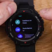 2020 05 07 10 34 05 305 Amazfit T Rex Die Casio G SHOCK unter den Smartwatches  Test YouTube