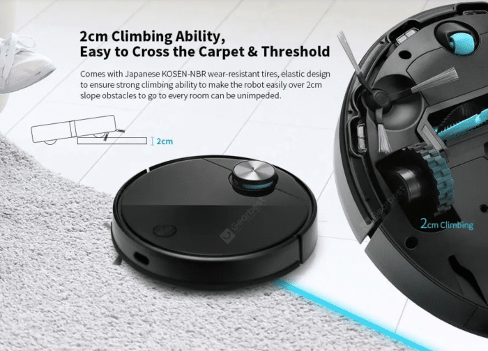 2020 05 11 11 27 17 IN Germany Stock VIOMI V3 LDS Laser Navigation Wet and Dry Robot Vacuum Antibact