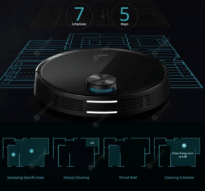 2020 05 11 11 27 33 IN Germany Stock VIOMI V3 LDS Laser Navigation Wet and Dry Robot Vacuum Antibact