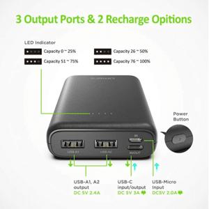 2020 07 02 15 37 50 Omars Powerbank 10000 mAh Externer Akku Tragbares  Amazon.de  Elektronik
