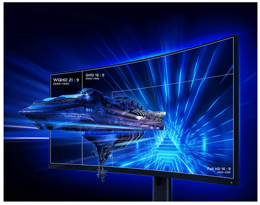 Xiaomi Curved Gaming Monitor Auflösung