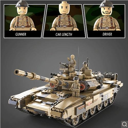 CaDA T90 Panzer + Figuren
