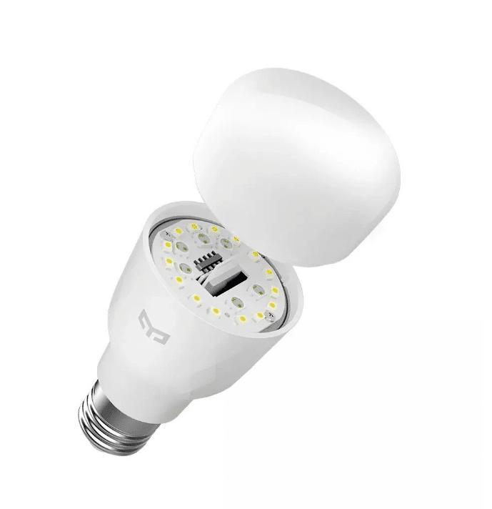 Xiaomi Yeelight E27 LED Lampe Aufbau